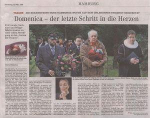 Hamburger Abendblatt 12. März 2009