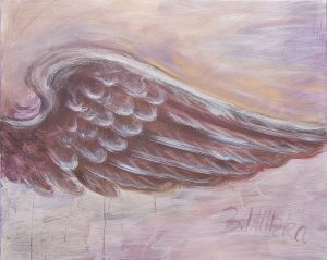 Beflügelung 4 (Acryl auf Leinwand, 100cm x 80cm)