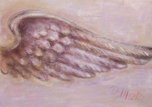 Beflügelung 5 (Acryl auf Leinwand, 100cm x 70cm)