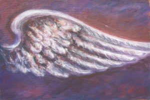 Beflügelung 6 (Acryl auf Leinwand, 93cm x 62cm)