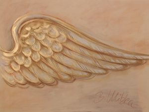 Beflügelung 7 (Acryl auf Leinwand, 80cm x 60cm)