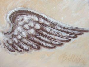 Beflügelung 8 (Acryl auf Leinwand, 90cm x 70cm)