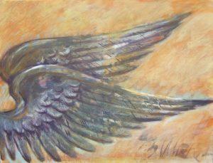 Beflügelung 9 (Acryl auf Leinwand, 80cm x 60cm)