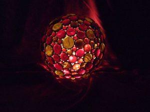 Lichtkugel, 25 cm Ø