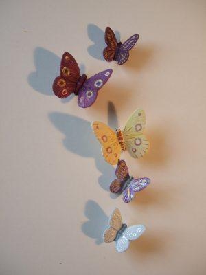 Schmetterlinge: Keramik