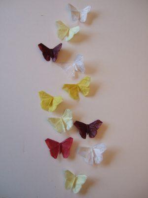 Schmetterlinge: Origami