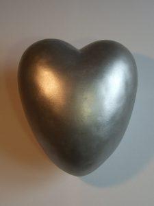 Urne Das Herzlicht (silber)